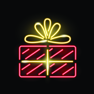布告,绘画插图,计算机图标,生日,红色,概念,惊奇,品牌名称,蝴蝶结,霓虹灯