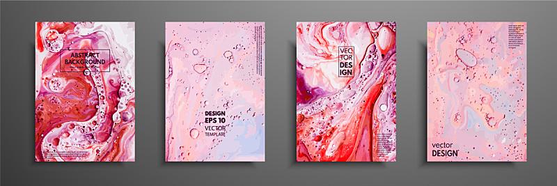 纹理,特写,式样,色彩鲜艳,液体,布置,覆盖,流动,绘制,作画