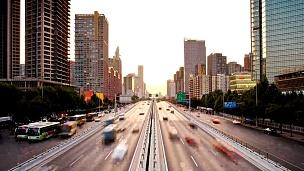 北京的日落