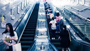 地铁自动扶梯的时间间隔