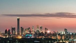 TL PAN北京市中心夜间/中国北京