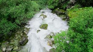 雅定国家级自然保护区水流