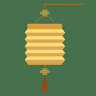 手绘-中国风元素-灯笼