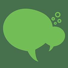 扁平-对话气泡基础装饰元素8