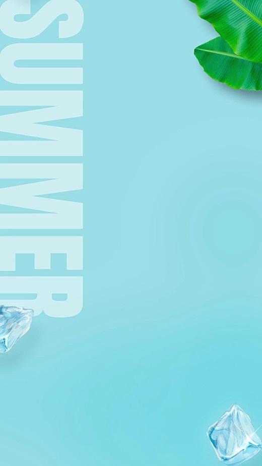 多产品展示卡点视频夏日冰块美业
